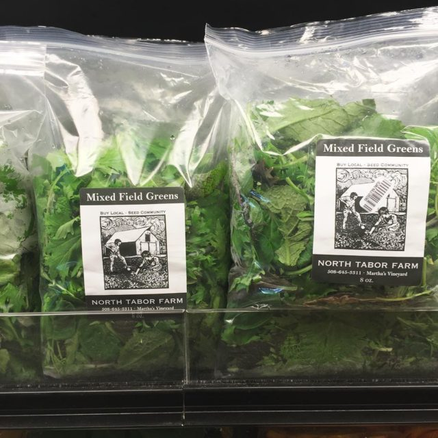 NorthTaborFarm field greens! So yummy and perfect for your dinnerhellip
