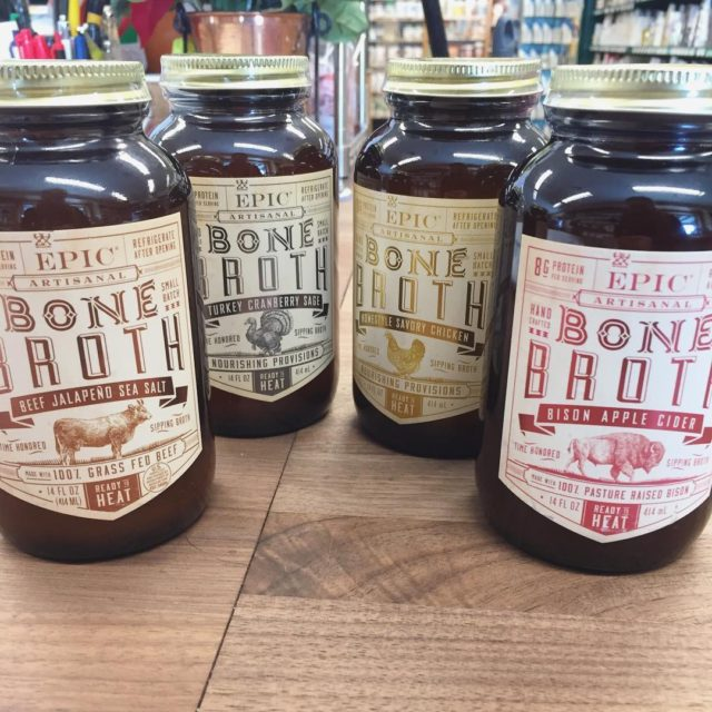 epicbar New product BONE BROTH! Offered in 4 flavors chickenhellip