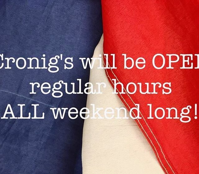 Happy weekend! Stop in for all of your Fourth ofhellip