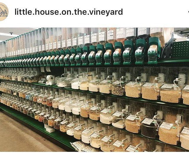 This is our new expanded bulk section! Thanks littlehouseonthevineyard forhellip