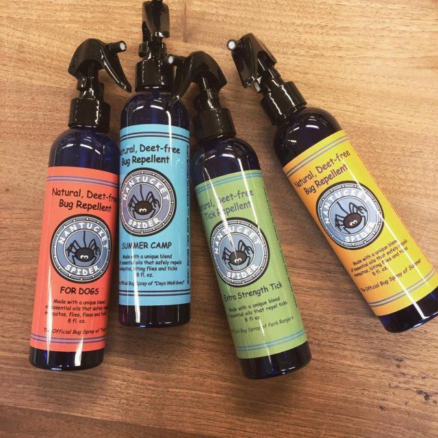 Staff fav bug repellent! nantucketspider Makes these 4 sprays tohellip