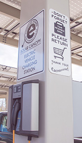 Cronigs Market Charging Station