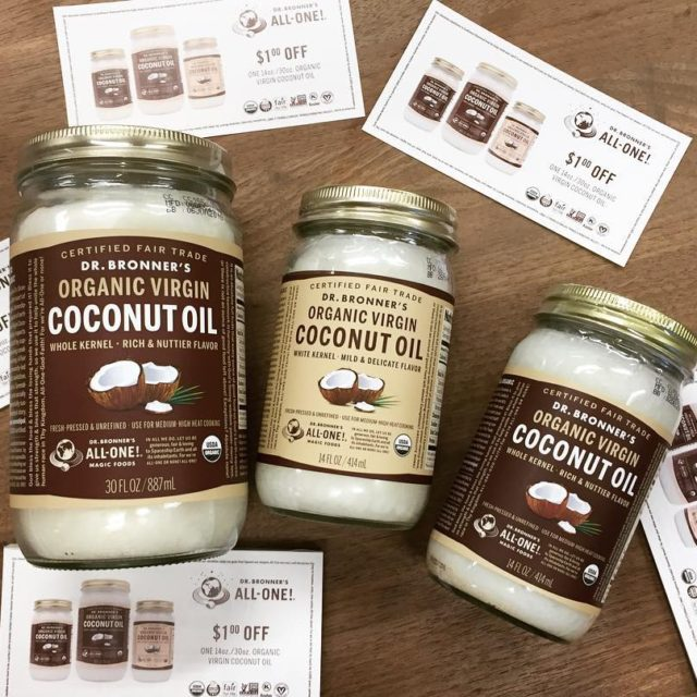 drbronner Coconut oil Our personal favorite! Awesome for cooking ANDhellip