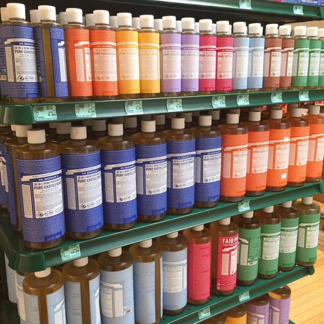 All in one soap from drbronner ! Our favorite Castilehellip