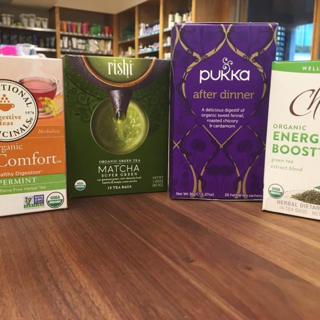 These teas are a must have to get through Thanksgiving!hellip