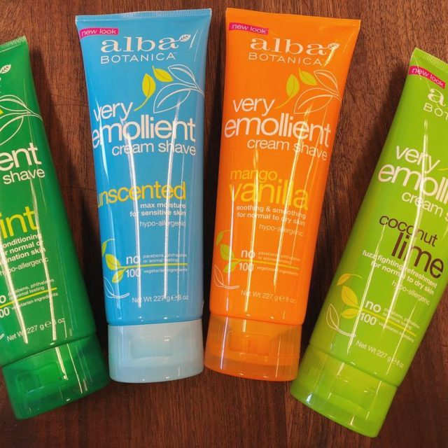 NEW  Shaving creams from albabotanica No parabens and hypoallergenichellip