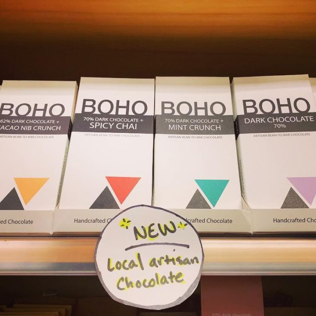 New Product  LOCALLY made chocolate from bohochocolate Beantobar Thishellip